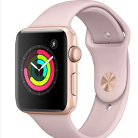 Apple Watch Gen 3 Series 3 42mm Gold Aluminum - Pink Sand Sport Band MQL22LL/A-2