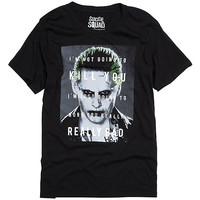 DC Comics Suicide Squad Joker Quote T-Shirt