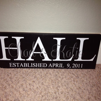 Personalized Wedding Date Sign by SwirlyTwirlyDesigns on Etsy