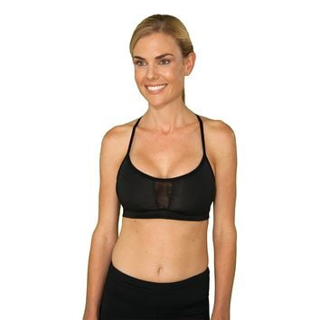 Little Minx Black Sports Bra