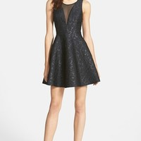 Women's ASTR Jacquard Fit & Flare