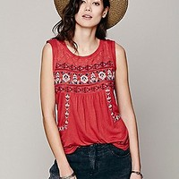 Free People Womens Reckless Abandon Top - White, M