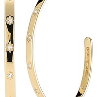 Women's Elizabeth and James 'Bassa' Hoop Earrings - Gold