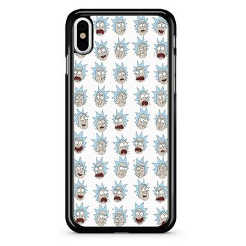 Rick And Morty - Ricks Face iPhone X Case