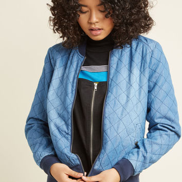 Cafe Caper Bomber Jacket
