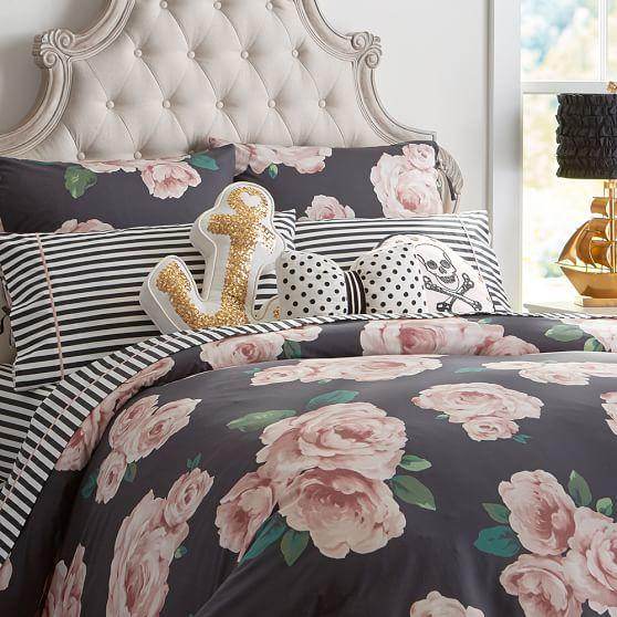 The emily meritt bed of roses duvet from pbteen emily - A nice bed and cover for teenage girls or room ...