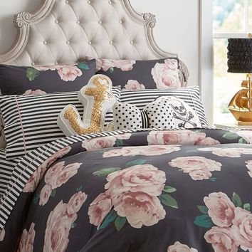 The Emily & Meritt Bed Of Roses Duvet Cover + Sham