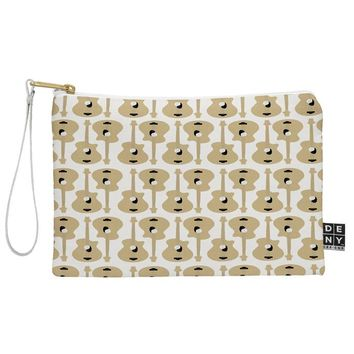 Allyson Johnson Guitar Pattern Pouch