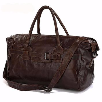 Leather Travel/Duffel Bag