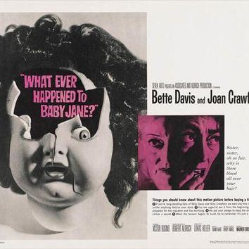 Whatever Happened to Baby Jane? (UK) 30x40 Movie Poster (1962)