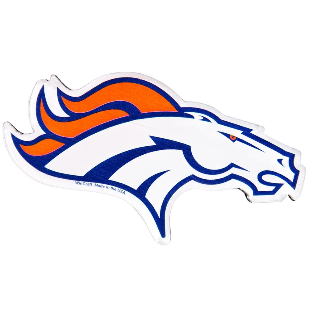 Denver Broncos - Logo Acrylic Magnet from Old Glory