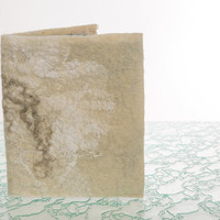 Felted Notebook covers, refillable, handmade