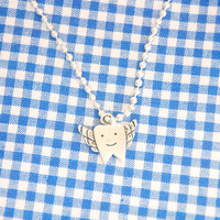 Lost Tooth, Tooth Fairy Gift, Tooth Charm Necklace for Boys