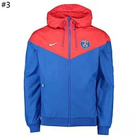 NIKE 2018 new trend men's hooded windbreaker jacket #3