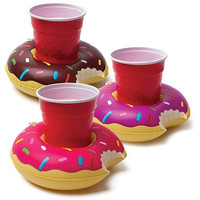 Pool Party Beverage Holders - Donuts