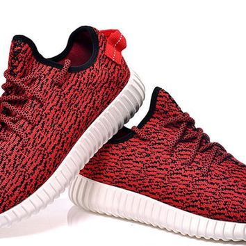 2016 Yeezy Boost 350 Fashion Kanye West Outdoor Sports Shoes Red Yeezy 350 Boosts Box Yeezy Boosts 350 Sale