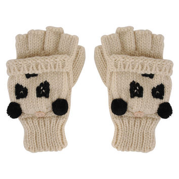 Panda Bear Gloves