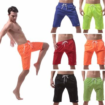Men's Shorts Swim Trunks Quick Dry Beach Surfing Running Swimming Watershort
