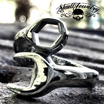 'Takin Care Of Business' Wrench Ring (413)