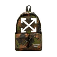 Camo Canvas Backpack by OFF-WHITE
