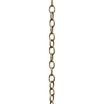 [Chain 42] Small Oval Chandelier Chain | 9 Gauge