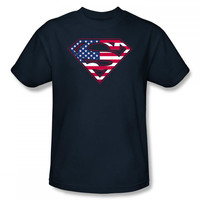 Superman U.S. Shield Mens T-Shirt