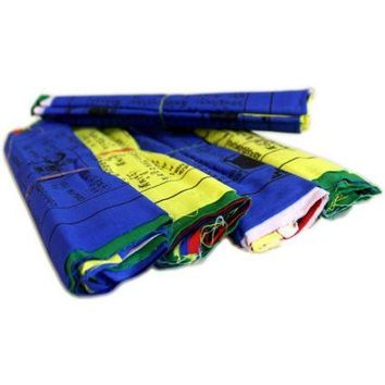 Tibetan Prayer Flag Medium Fine Quality
