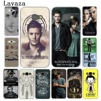 Lavaza Supernatural SPN Jensen Ackles Phone Case for Samsung Galaxy A3 A5 2015 2016 2017 A6 A8 Plus 2018 Note 9 8 Grand Prime