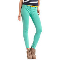 Ponte Knit Skinny Pant: Charlotte Russe