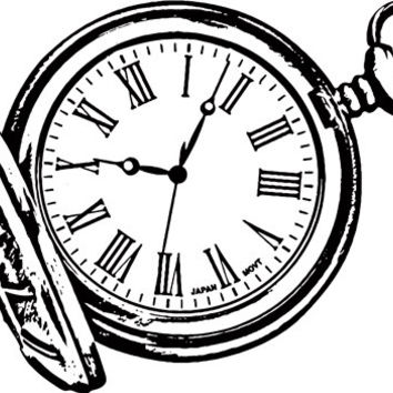 antique pocket watch time piece Digital art graphics Image Download clipart png clip art printable art digital coloring page