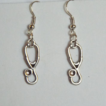 Stethoscope Earrings