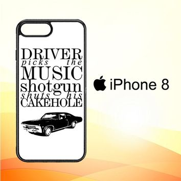 Supernatural Z0198 iPhone 8 Case