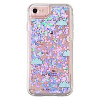 Sweet Dreams Dual Glitter iPhone Case