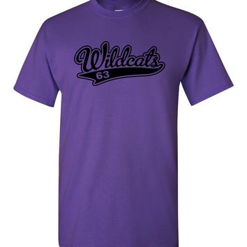Official NCAA Kansas State University Wildcats KSU K-State Short-Sleeve T-Shirt - ksuw2015