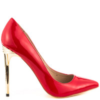Pippa - Red Patent
