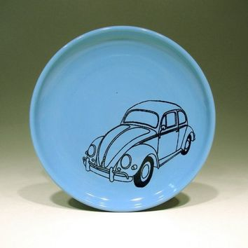 little plate beetle (dodger blue) - Made to Order / Pick Your Colour