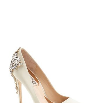 Badgley Mischka 'Gorgeous' Crystal Embellished Pointy Toe Pump (Women) | Nordstrom