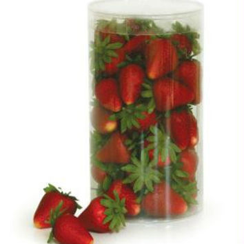 "300 Artificial Strawberries - Range From 2-2.5 "" L"