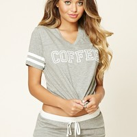 Coffee Graphic PJ Set
