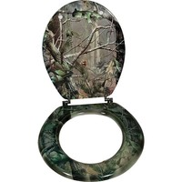 River's Edge Toilet Seat Realtree APG Camo