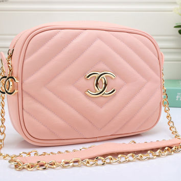 Chanel Women Leather Shoulder Bag Crossbody Satchel