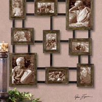 Photo Frame Collage - Hand Forged Metal