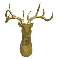 Gold Stag Head -Threshold™