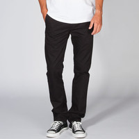 Levi's 511 Black Hybrid Mens Slim Trousers - Boardshorts And Walkshorts In One Black  In Sizes