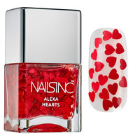 Sephora: NAILS INC. : Alexa Hearts Polish : nail-effects