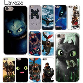 Lavaza Toothless Train Your Dragon Hard Phone Cover Case for Apple iPhone 10 X 8 7 6 6s Plus 5 5S SE 5C 4 4S Coque Shell