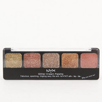 NYX LOS ANGELES Glitter Cream Palette at PacSun.com