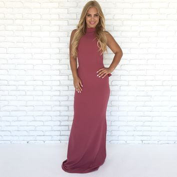 Will You Accept This Rose Maxi Dress in Rose Pink