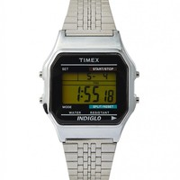Timex Classic Digital Silvertone Bracelet Watch - Watches - Accessories - Shop | The Idle Man
