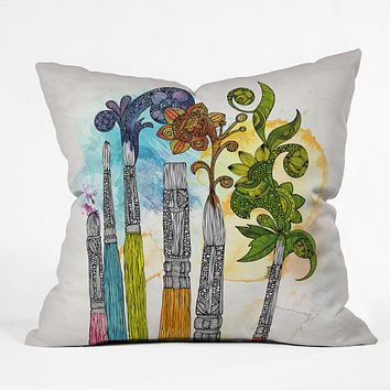 Valentina Ramos Brushtopia Throw Pillow